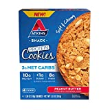 Atkins Protein Cookie Peanut Butter, 4 Count