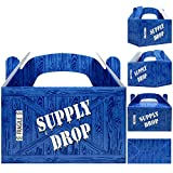 Supply Drop Favor Box   24 Count Party Treat Boxes   Battle Gamers Goodie Loot...