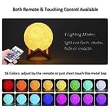 Zoom IMG-1 lampada luna 3d stampata 16