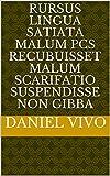 rursus Lingua satiata malum pCs recubuisset malum SCARIFATIO Suspendisse non gibba (Italian Edition)