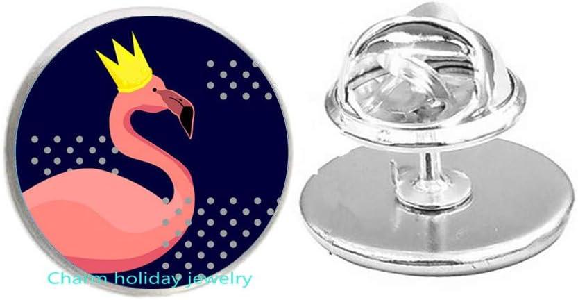 shopping Flamingo Brooch Bird Sterling Tulsa Mall Pin fo Silver Gift