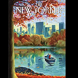 The New Yorker, November 12th 2018 (Atul Gawande, George Packer, Jill Lepore) cover art