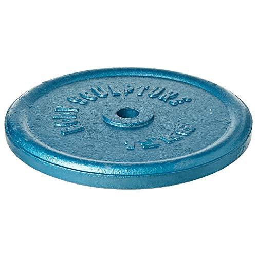 BODYSCULPTURE Pesas Discos de Hierro Fundido Diferentes Pesos (Unidad) (10KG)