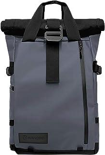 PRVKE Travel and DSLR Camera Backpack with Laptop/Tablet Sleeve - Rugged Photography Bag (31 L, Aegean Blue)