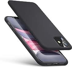 ESR Cover per iPhone 11, Custodia Morbida Serie Yippee Color in Gomma Siliconata Liquida [Impugnatura Comoda] [Protezione Schermo e Fotocamera][Ammortizzante] per iPhone 11, Nero