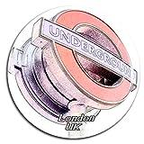 Weekino Reino Unido Inglaterra Metro subterráneo Londres Imán de Nevera 3D de Cristal de Turismo de la Ciudad de Viaje Recuerdo de la Colección de Regalo Fuerte Etiqueta Engomada del refrigerador