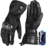 Heated Gloves for Men&Women, Electric Heated Gloves for Motorcycle/Cycling/Hunting/Skiing/Hiking, Heated Motorcycle Gloves