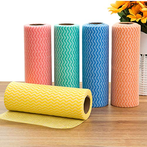 Dongbin 5 Reinigungstücher, Einweg-Reinigungstücher, praktisch, gesund, für den Heimgebrauch geeignet (20 x 7 cm),20 * 7cm