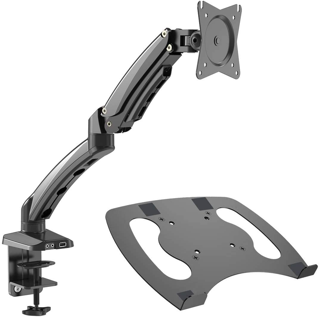 Gibbon Mounts Laptop Desk Monitor Motio Full Mount Arm with 67% OFF of fixed price Sales