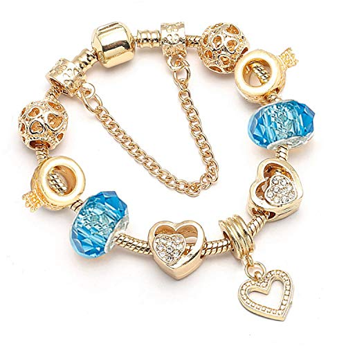 Pulsera Brazalete, Joyeria Regalo, Dropshipping New Jewelry Women Charm Bracelet New Fine Bracelet Gold Bracelets Pulseras Mujer 003 17cm