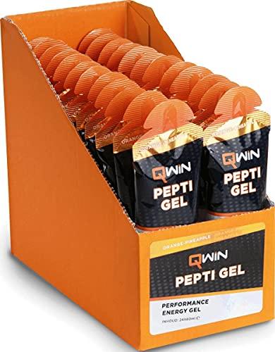 QWIN Pepti Gel Orange-Pineapple 24x60ml