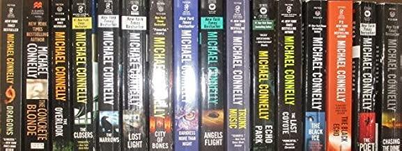 Michael Connolly Complete Harry Bosch 21 Novel Series Set