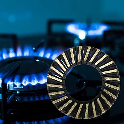 Deckelabdeckung Haushaltsgasherd Gasherdbrenner Praktisch langlebige Gasherdteile Eingebetteter Gasherdbrenner für Haushaltsküchenzubehör Gasherdzubehör