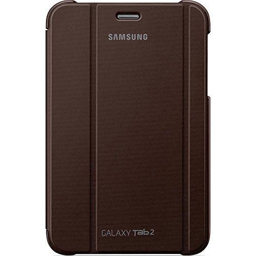 Samsung Original Diarytasche (Flipcover) im Buchdesign EFC-1G5SAECSTD (kompatibel mit Galaxy Tab 2 7.0) in amber brown