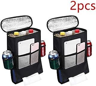 Car Seat Back Organizer- Travel Accessories Storage Bag Hanging Backseat Car Organizer -2pcs