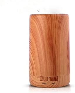 JSQWP Humidifier Ultrasonic Classic Column Low Voltage Safety Electric Aromatherapy Essential Oil Aroma Diffuser
