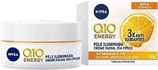 Nivea Q10 Energy Crème Facial Dia FP15 Pele Iluminada 50ml