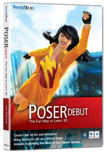 Smith Micro Software, Poser Debut (PC/Mac) [Versione inglese]