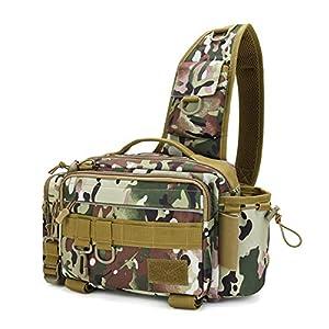BIBOKO Fishing Tackle Bags, Portable Shoulder...