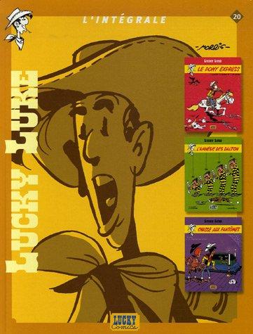 Lucky Luke L'intégrale, Tome 20 : Le Pony Express ; L'amnésie des Dalton ; Chasse aux fantômes