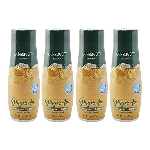 SodaStream Ginger Ale, 440ml 4-Pack