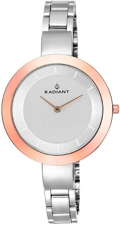 Radiant Reloj Analógico Para Mujer de Cuarzo con Correa en Acero