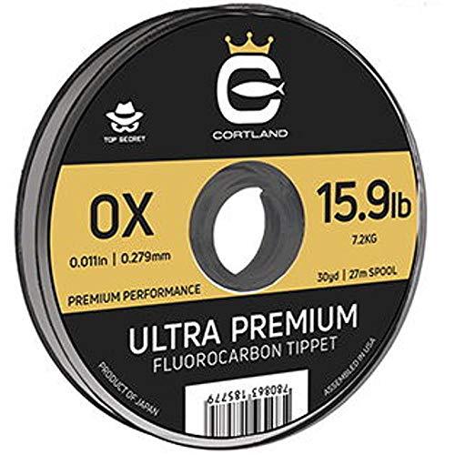 Cortland Ultra Premium Fluorocarbon Tippet 30 yd 4X - 8.4 lb