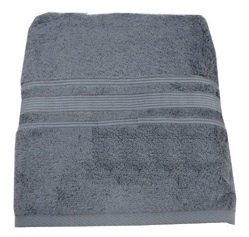 Charisma Bath Towel - 100% Hygro Cotton, Grey