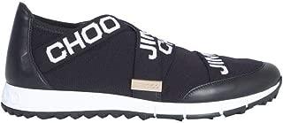 JIMMY CHOO Luxury Fashion Womens TORONTOXKEBLACKWHITE Black Slip On Sneakers   Spring Summer 19