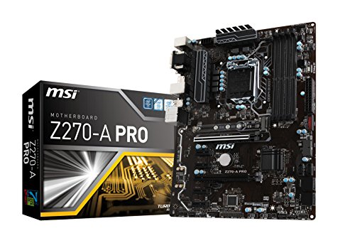 MSI Z270-A PRO Carte mère Intel Socket LGA 1151