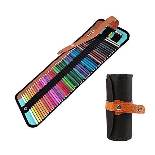YeenGreen 50 Lapices Colores, Profesionales Lapices de Dibujo Set de Dibujo Niños Artistico Material de Dibujo Lápices de Dibujo Colores, para Adultos,Niños, Juego de Lápices