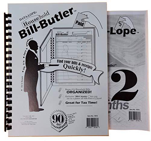 Bill-Butler Monthly Household Bill Organizer & Budget-Lope