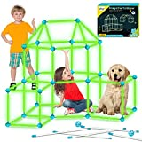 HOMOFY Luminous Fun Fort Building Play Tent...