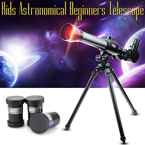 HD Outdoor Éénogige Space telescoop, met een spiegel draagbare driepoot punt 20X-40X 60MM telescoop/verrekijker,1pack