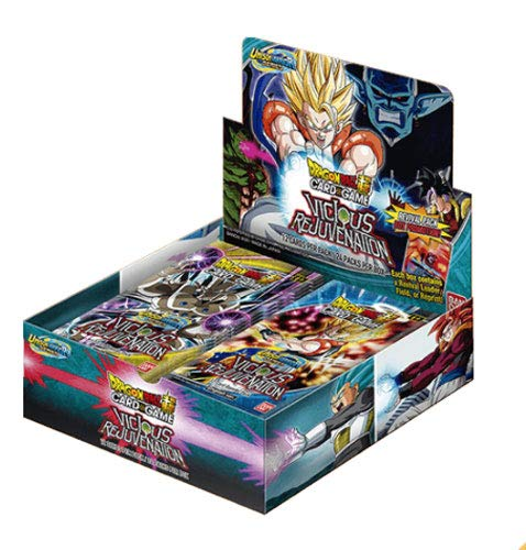 Dragon Ball Super Series 12 Vicious Rejuvenation Unison Warrior Series 3 Booster Box – 24 paquetes