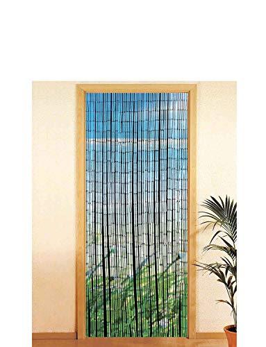 Wenko Bambusvorhang Küste Raumteiler Dekotür Sommer Fliegenschutz