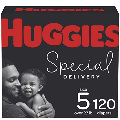 Diapers Size 5 - Huggies Special Delivery Hypoallergenic Disposable Baby Diapers, 120ct,...