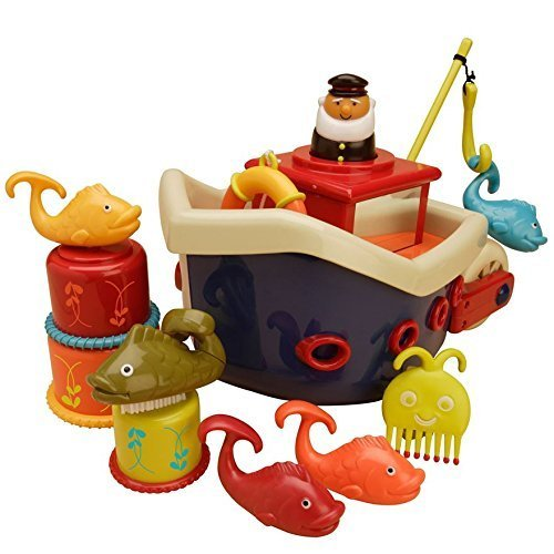 B. Fish n Splish Bath Boat by B.