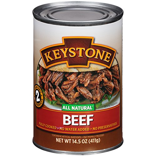 Keystone Meats All Natural Canned Beef, 14.5 Ounce