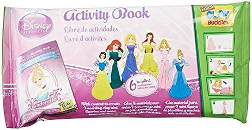 Giromax Disney Princess Mini Clay Buddies Pack by Giromax