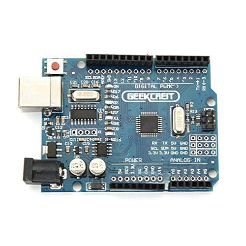 Ywzhushengmaoyi UNO R3 ATmega328P Development Board No Cable for Arduino - products that work with official Arduino boards 3Pcs Electronics Module Parts