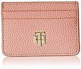 Tommy Hilfiger TH Soft CC Holder, Accesorio Billetera de Viaje para Mujer, Orange, Talla única