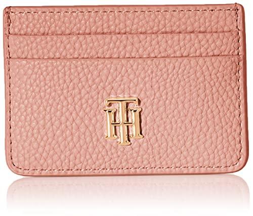 Tommy Hilfiger TH Soft CC Holder, Accessori Portafogli da Viaggio Donna, Arancione, Taglia Unica