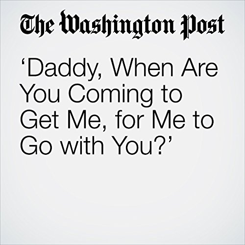 'Daddy, When Are You Coming to Get Me, for Me to Go with You?' copertina