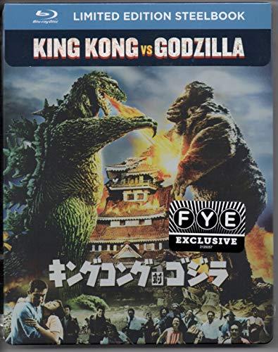 KIng Kong vs Godzilla (1963) Limited Edition Steelbook