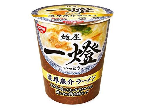 【販路限定品】日清食品 麺屋一燈 ミニ濃厚魚介ラーメン 39g×15個