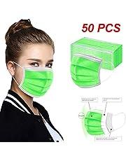 Lfore 50Piezas Adulto Protección 3 Capas Transpirables con Elástico para Los Oídos -Lfore824Kobe