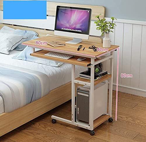 escritorio de la computadora Levantamiento de la mesita de noche extraíble escritorio de la computadora portátil en casa dormitorio mesa perezosa escritorio de la cama simple mesa pequeña estaciones