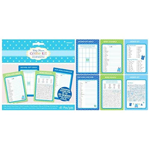 Amscan 381491 met liefde jongen spel kit