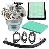 Harbot GCV160 Carburetor with Air Pre Filter Gasket for Honda GCV160A GCV160LA GCV160LAO GCV160LE Engine HRB216 HRR216 HRS216 HRT216 HRZ216 XR2600 HRR216VKA HRR2166VKA HRR216VXA 16100-Z0L-023